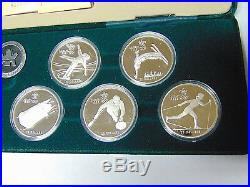 Set of 1988 Calgary Olympic 1 oz Silver Coins 10 Proof Canada $20 Silver Coins