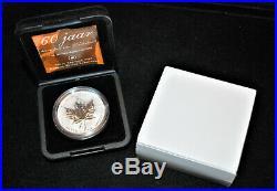 Tulip Privy Mark 2005 Canada $5 Silver Maple Leaf